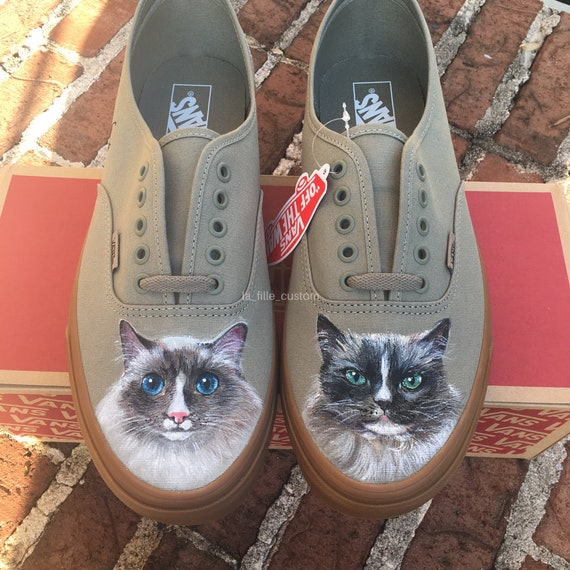 cats pets cute | Custom nike shoes