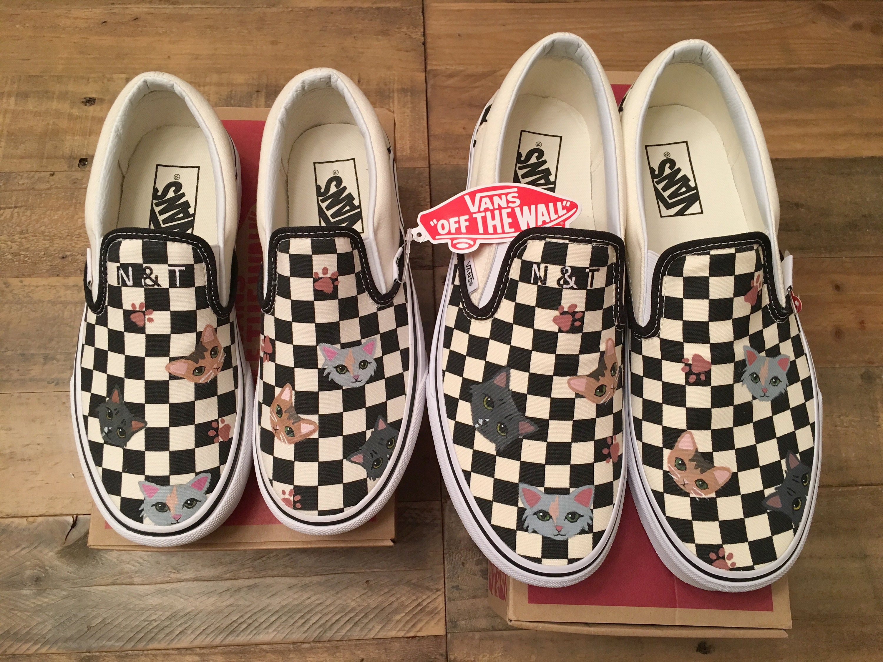 03d2c7a9719 Custom vans hand painted with pet character personalized animal painted  vans shoes jpg 3000x2250 Animal painted