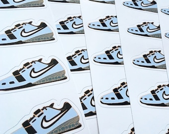 Weightlifting Shoe Sticker