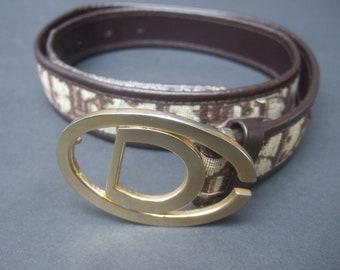 01e0bf7d Christian dior belt | Etsy