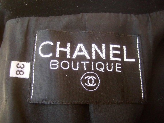 Chanel Scarlet Silk and Velvet Jacket. Mid 90's P… - image 8