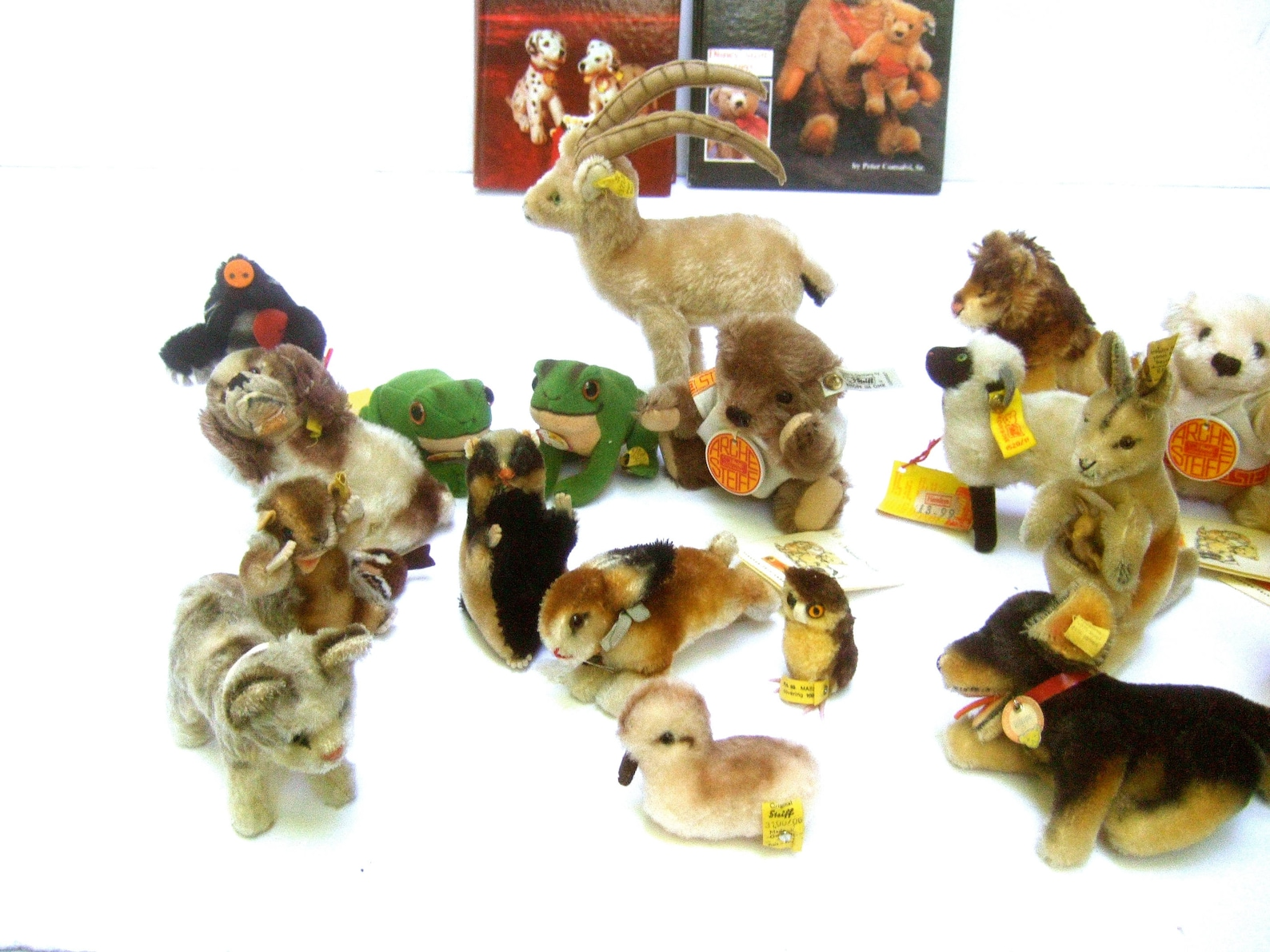 Charming Collection of 23 Small Steiff Animals