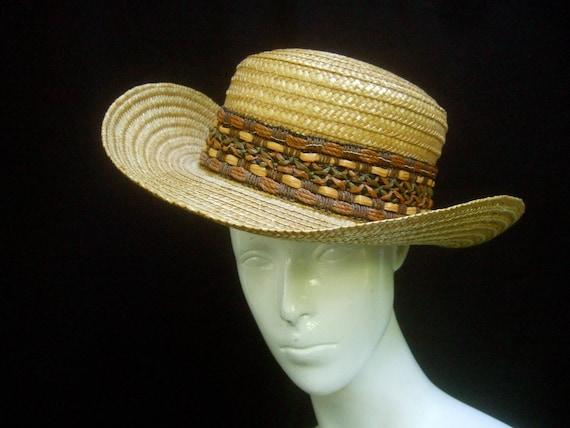 Classic Italian Straw Women's Summer Hat