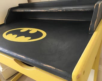 Kids Batman Desk - Children's Batman Desk - Superhero Desk - Batman Furniture