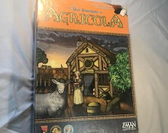 Agricola Game Organizer