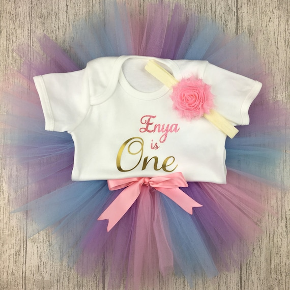 Vest And Tutu Birthday Outfit Cake Smash Photo Props First