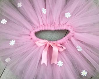Pink tutu, Tutu Skirt, Cake Smash, Birthday outfit, Tutu, pink tutu, birthday tutu, first birthday outfit, flower girl
