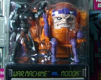 1994 War Machine/Modok Metal Figures (Unopened)