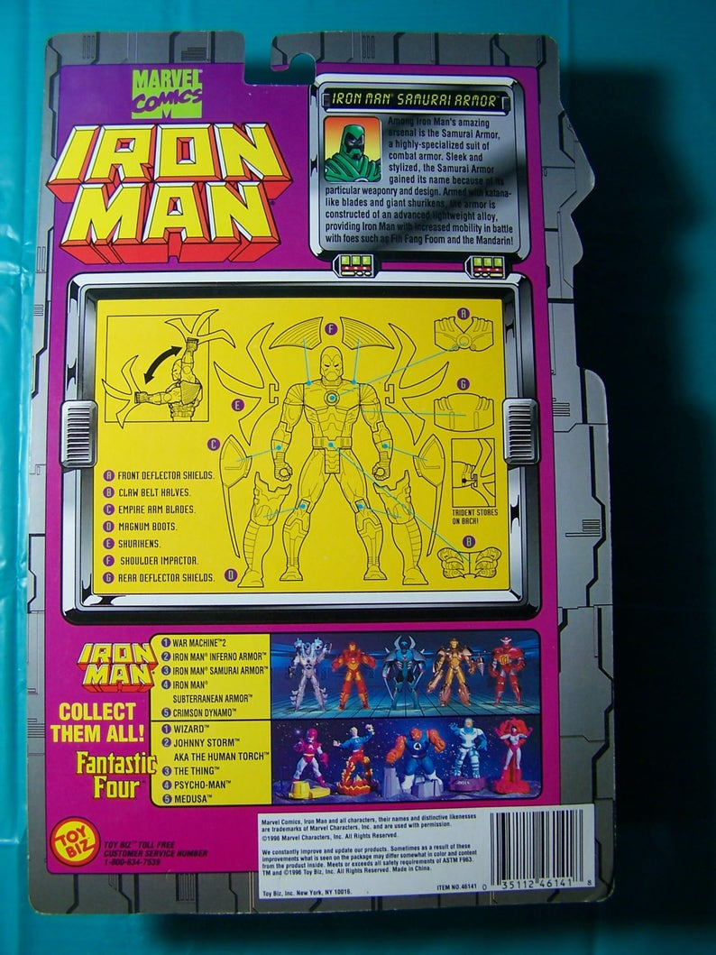 1994 Iron Man [Samurai Armor]