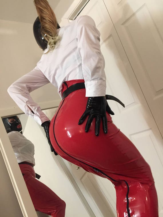 Latex Mistress Ultra Long Hobble Skirt 0 30mm 4 Way Zip Etsy