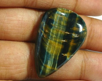 High quality blue tiger eye cabochon 1 piece 5.9 gm GM 074