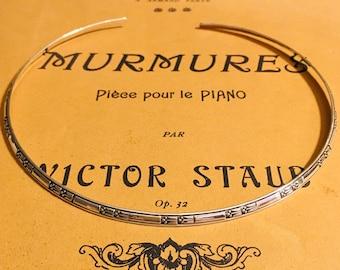 Vintage Ed Levin Jacks X Sterling Silver Cufflinks Modernist Abstract