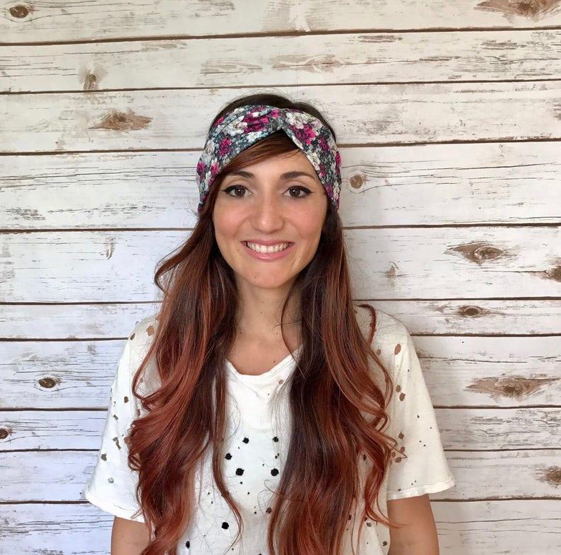 2ab095c8a5e69e Drehen Sie Stirnbänder-Mädchen Stirnbänder-Baby | Etsy