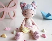 Amigurumi Doll pattern quot Candy Girl quot PDF download
