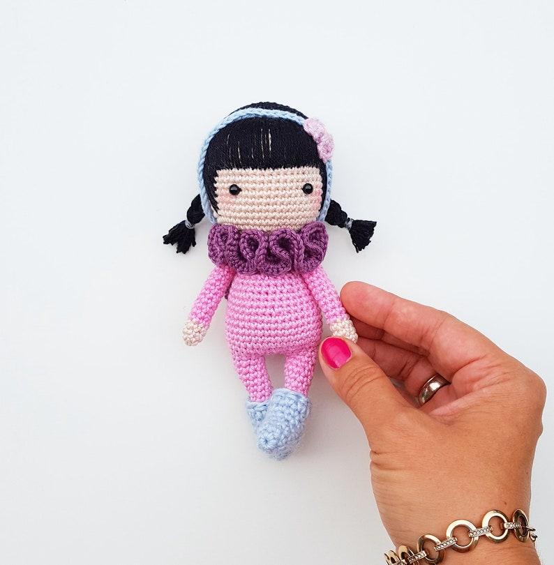 PDF Amigurumi Pattern Crochet Little Doll Sheep Handmade | Etsy | 810x794