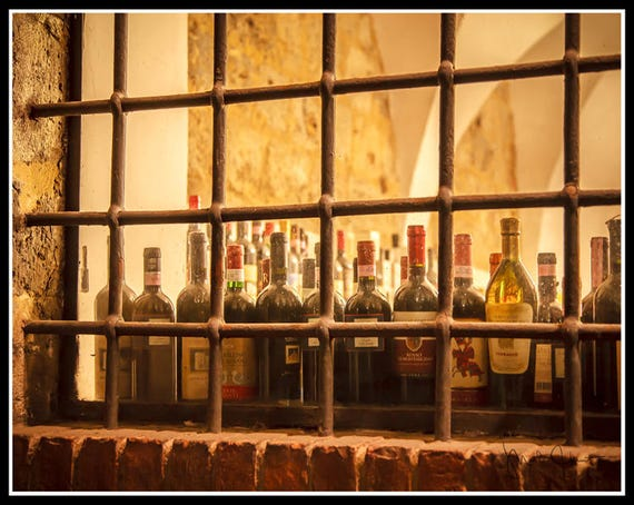 Wine Wall Decor Italy Wine Cellar Art Dining Room Art Wine | Etsy