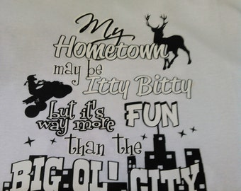 My Home Town T-shirt