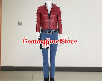 Customize Resident Evil Chrisredfield Stars Cosplay Costume