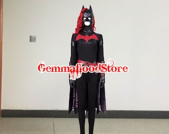 For The Batwoman Cosplay Costume Batwoman Batgirl Cosplay Outfit Adult Men Women Girls Personalized Size