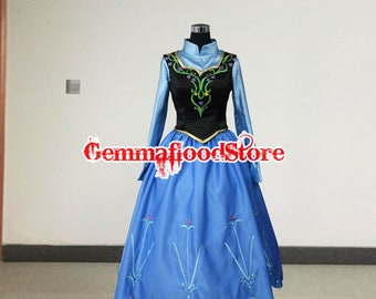 Items similar to Handmade - New Olaf Adventure Anna Costume, Anna