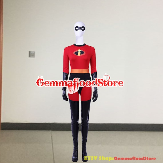 The Incredibles 2 Elastigirl Helen Parr Cosplay Costume Etsy