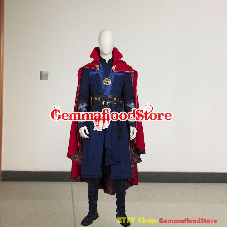 Doctor Strange Cosplay Stephen Steve Vincent Strange Costume