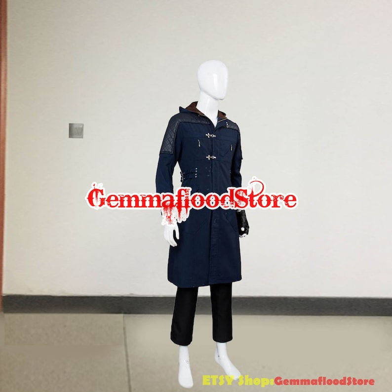 Devil May Cry 5 Cosplay Nero Costume May Cry Nero Adult Halloween Carnival Party DMC Costume