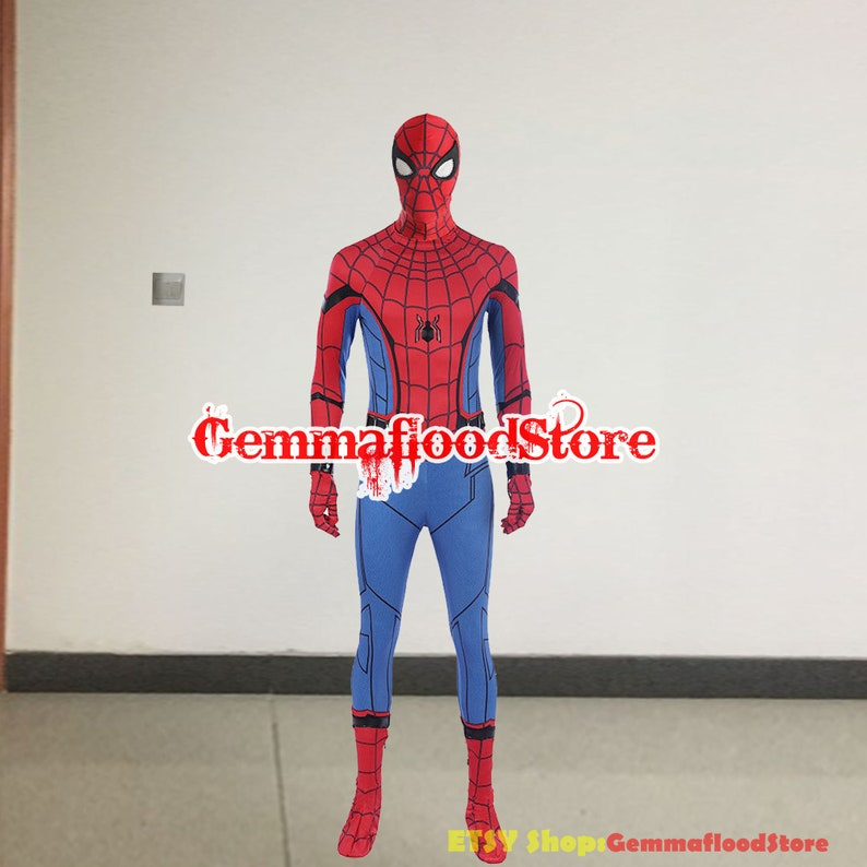 Spider-Man Homecoming Cosplay Costume Peter Parker Cosplay Costume