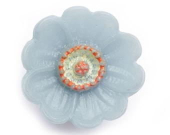 BN1861 pretty flower button