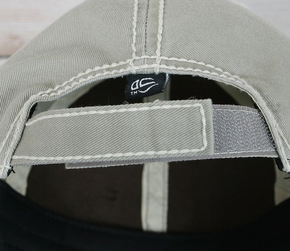31c654eec1a Womens brown khaki black baseball cap with handmade flower
