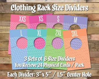 IFR LLR Size Dividers - This is a physical product.