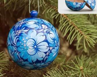 Hand Painted Ornaments Christmas Etsy
