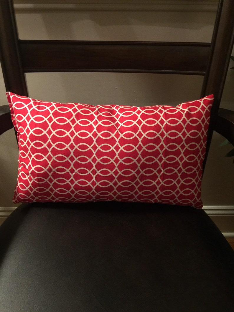 Red Decorative Pillow image 0