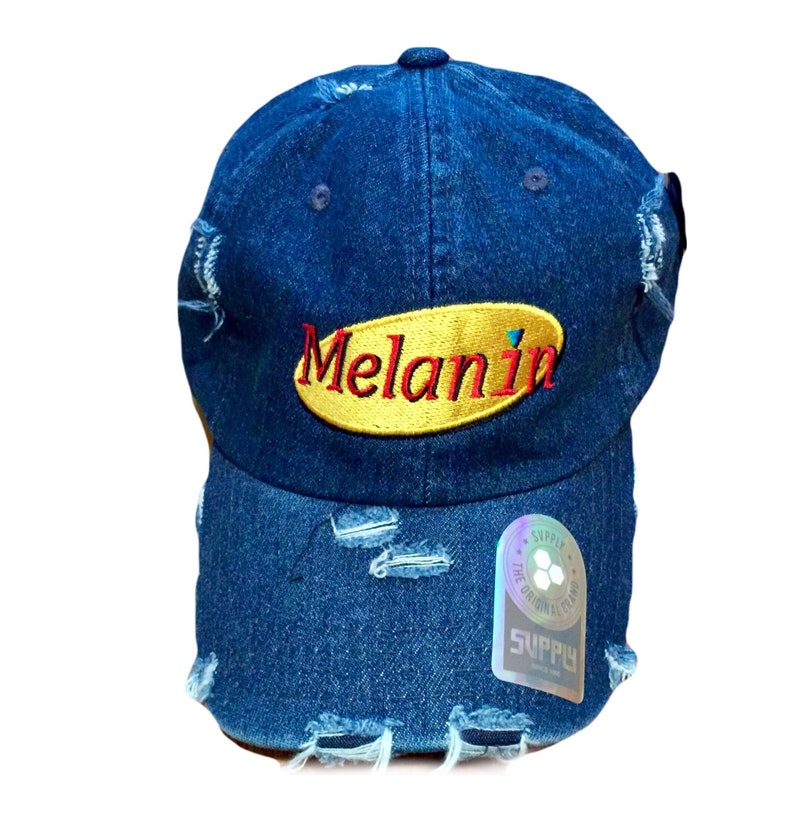 96a85c567b538 Melanin dad hat adjustable melanin dad cap Seinfeld style