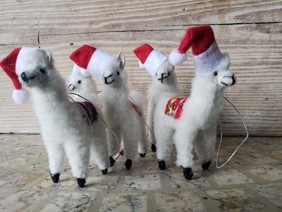 image 0 - Llama Christmas Ornament Etsy