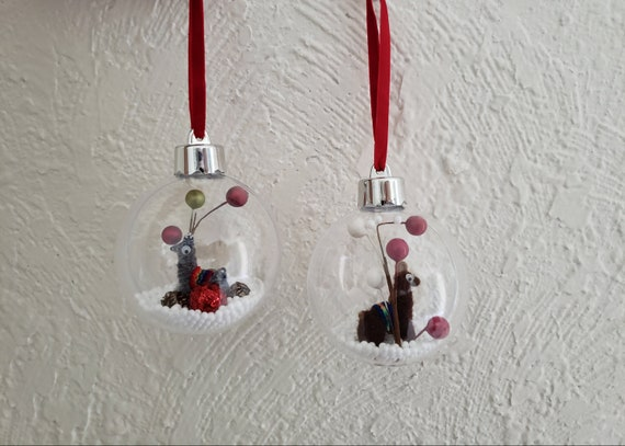 Llama Christmas Decorations.Lama Snow Globe Ornamet Snow Globe Ornament Snow Globe Christmas Llama Christmas Decorations
