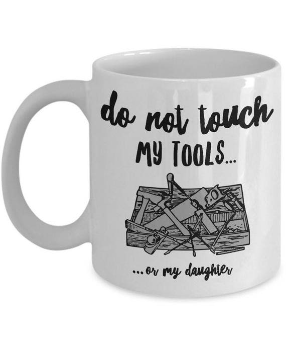 Funny Dad Coffee Mug To Dad From Daughter Christmas Or Etsy