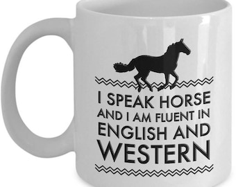 Funny Horse Travel Mug - Funny Horse Mug For Women And Girls - Horse Gifts For Women - Horse Lovers Gift Cup