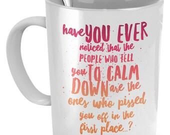 Funny Coffee Mug - 11oz White Ceramic Coffee Or Tea Cup - Funny Coffee Lovers Mug