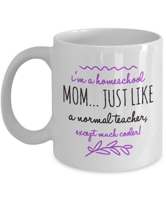 Homeschool Mom What I Do Gift Coffee Mug