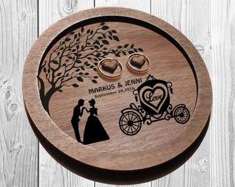 Cinderella Rustic Wedding Ring dish, ring dish, DISNEY ring plate, DISNEY wedding, wedding ring plates ring holder personalized wedding gift