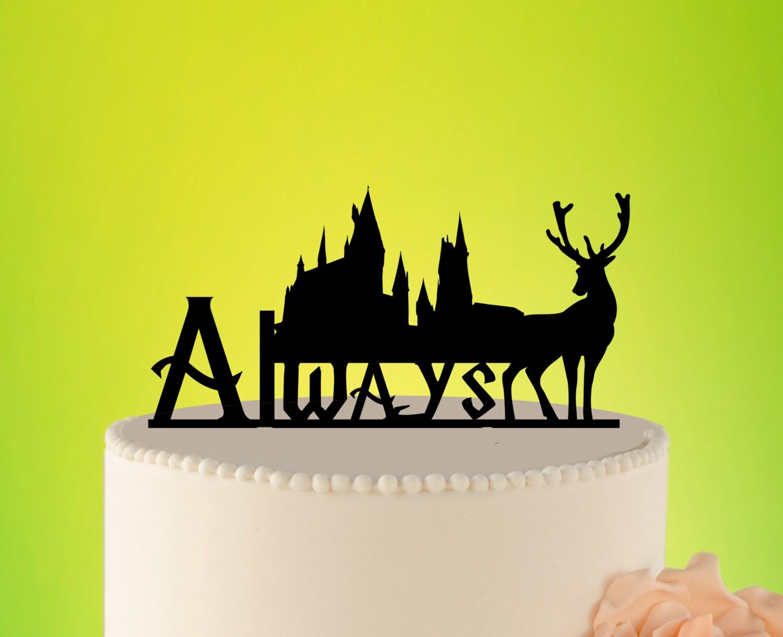 Always Wedding Cake Topper Harry potter wedding cake topper   Etsy