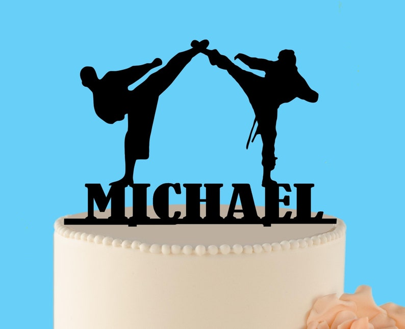 Ninja Birthday Cake Topper Karate
