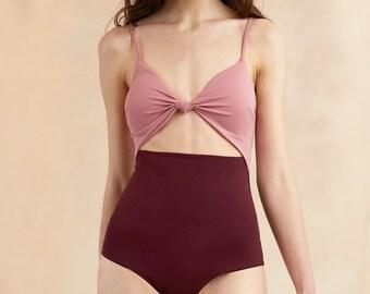 One piece swimsuit Swimsuit bathing suits swimwear monokini