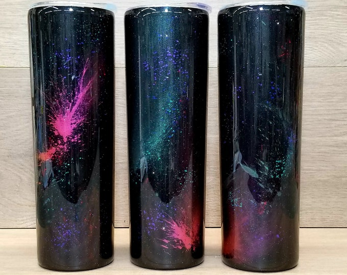 Featured listing image: Personalized Galaxy Tumbler