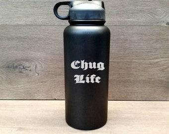 Personalized Water Bottle ~ Engraved Water Bottle ~ Monogrammed Water Bottle ~ Insulated Water Bottle ~Sport Bottle ~ 32 oz. HOGG Bottle