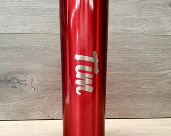 Personalized Engraved Skinny Tumbler
