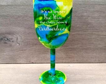 Personalized Wine Tumbler ~ Alcohol Ink Wine Tumbler ~ Swirl Wine Tumbler ~ Alcohol Ink Swirl Tumbler ~ 10 oz. HOGG Tumbler