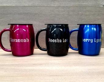 Personalized Laser Engraved Coffee Mug 14 oz