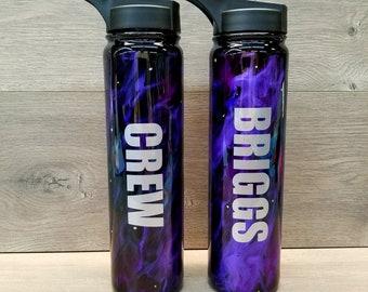 Personalized Water Bottle ~ Marble Water Bottle ~ Insulated Water Bottle ~ Monogrammed Water Bottle ~ Mica Bottle ~ 25 oz. HOGG Bottle